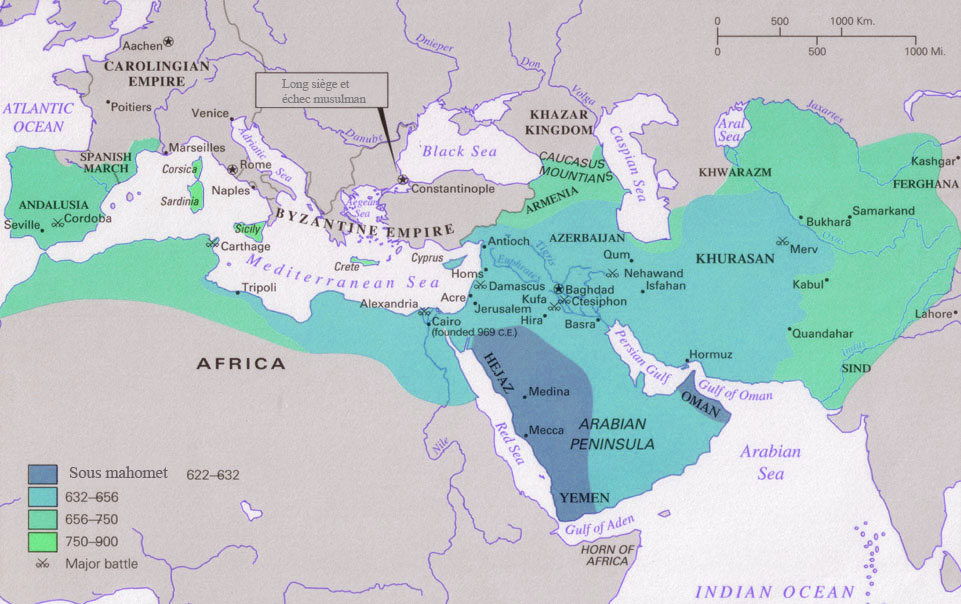 conquetes arabo musulmanes